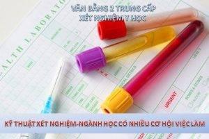 Đào tạo văn bằng 2 trung cấp xét nghiệm y học tốt nhất TpHCM