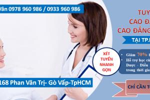 Đào tạo cao đẳng Điều dưỡng uy tín ở TpHCM