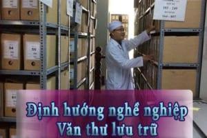 Định hướng nghề nghiệp – văn thư lưu trữ.
