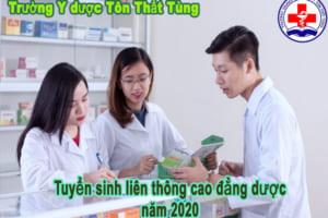 Tuyển sinh liên thông cao đẳng Dược năm 2020 tại TPHCM.