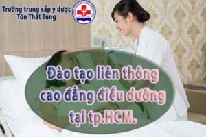 Đào tạo liên thông cao đẳng điều dưỡng tại tp.HCM.