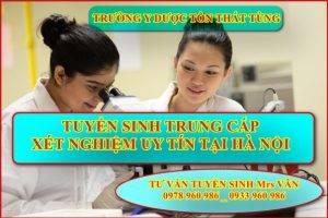Địa chỉ học trung cấp xét nghiệm năm 2021 tại Hà Nội