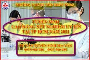 Điều kiện xét tuyển cao đẳng xét nghiệm TP HCM năm 2021