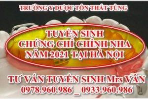 Học chứng chỉ chỉnh nha ở đâu tốt tại Hà Nội năm 2021