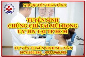 Lớp chứng chỉ Tai Mũi Họng cơ bản ở đâu tốt tại TPHCM năm 2021