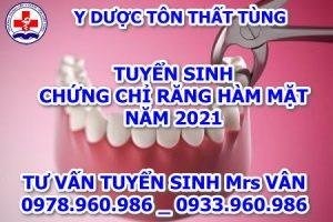 Học chứng chỉ răng hàm mặt trong thời gian bao lâu