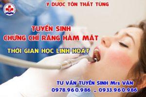 Địa chỉ học chứng chỉ răng hàm mặt tại tphcm