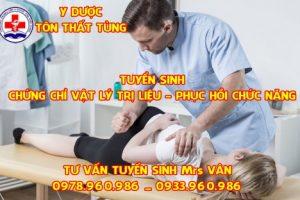 Địa chỉ học chứng chỉ vật lý trị liệu uy tín tại TPHCM